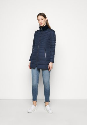 MATTE FINISH COAT - Down coat - navy