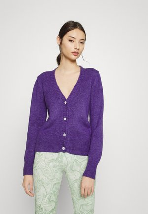 VIPEARLY CARDIGAN - Cardigan - purple heart