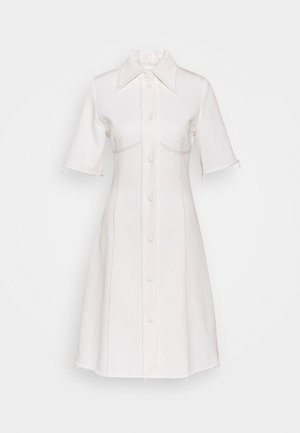 KILI  - Denim dress - white