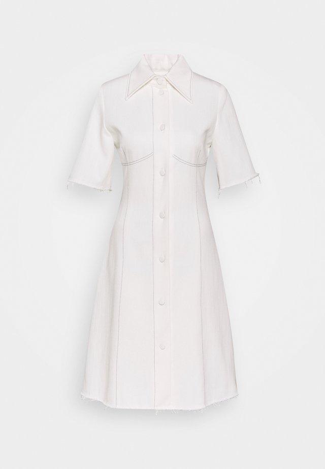 KILI  - Vestito di jeans - white