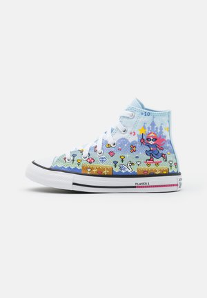 CHUCK TAYLOR ALL STAR GAMER UNISEX - High-top trainers - blue/bold pink/white