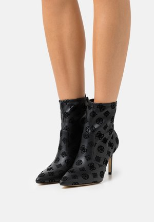 DAFINA - High heeled ankle boots - black
