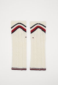Tommy Hilfiger - LEG WARMERS CABLE - Leg warmers - off white - 0