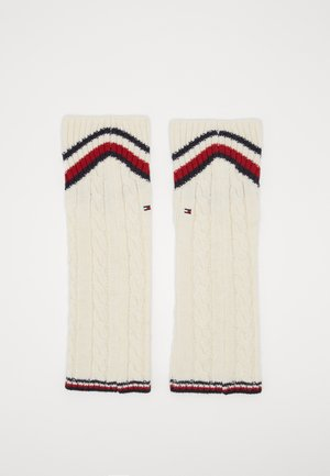 LEG WARMERS CABLE - Beenwarmers - off white