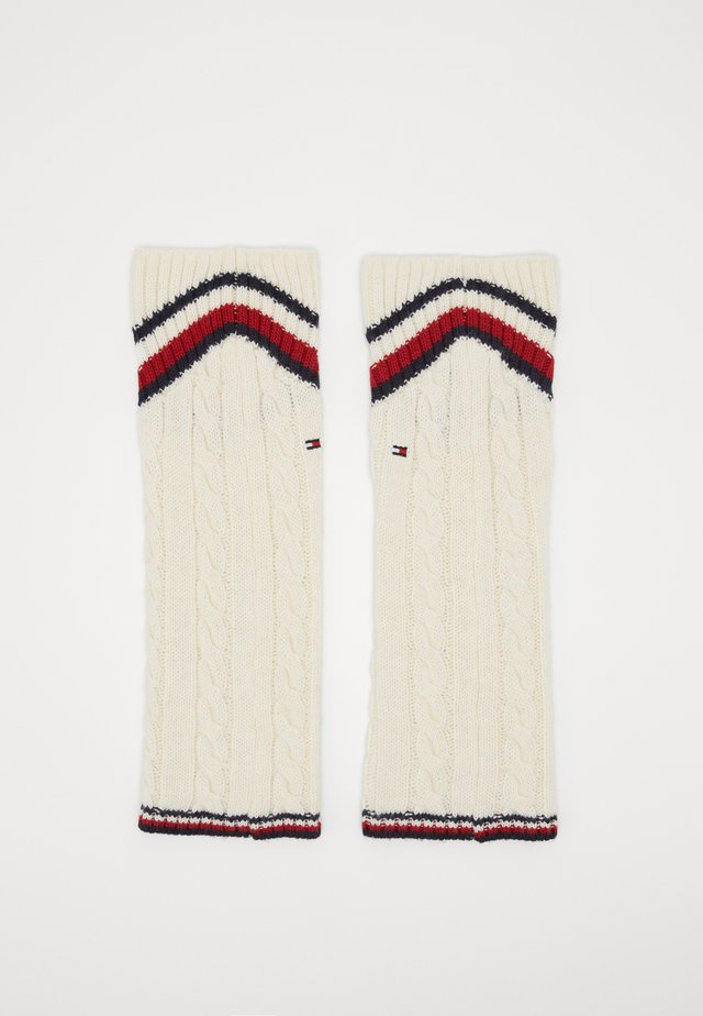 LEG WARMERS CABLE - Leg warmers - off white
