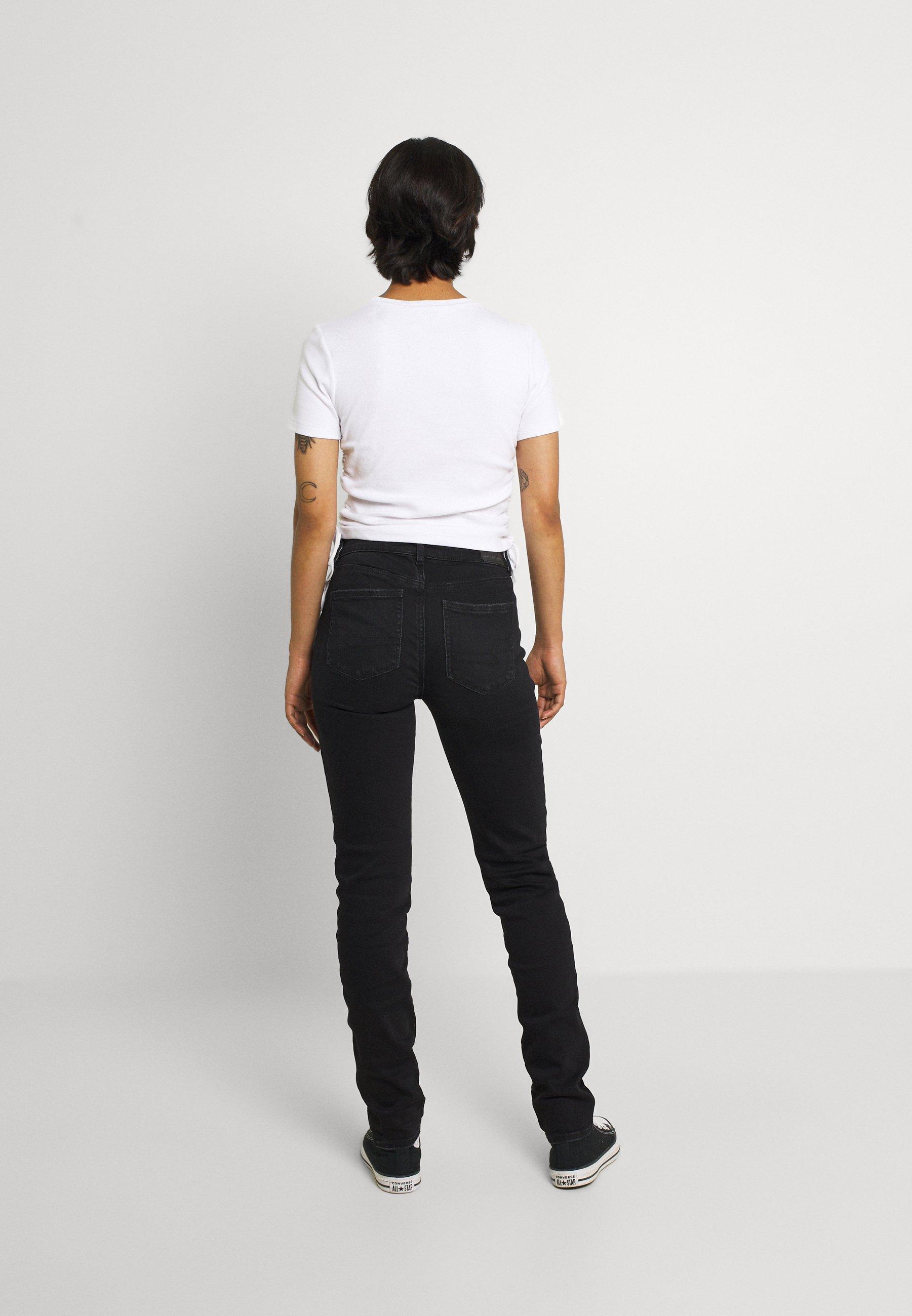 Damer HI RISE SKINNY - Jeans Skinny Fit