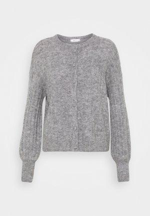 DEANNA CARDIGAN - Cardigan - mottled grey