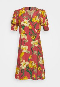 YAS Petite - YASTROPICANA WRAP DRESS  - Vestido informal - canyon rose - 4