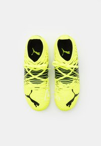 Puma - FUTURE Z 3.1 MG JR UNISEX - Moulded stud football boots - yellow alert/black/white - 3