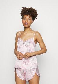 Women Secret - SHORT FLOW - Pyjamas - pink - 1