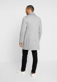 Pier One - Classic coat - mottled grey - 2