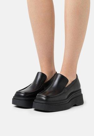 CARLA - Slip-ons - black