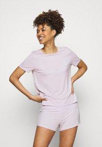 Anna Field - Basic short set - Pyjama - lilac - 1