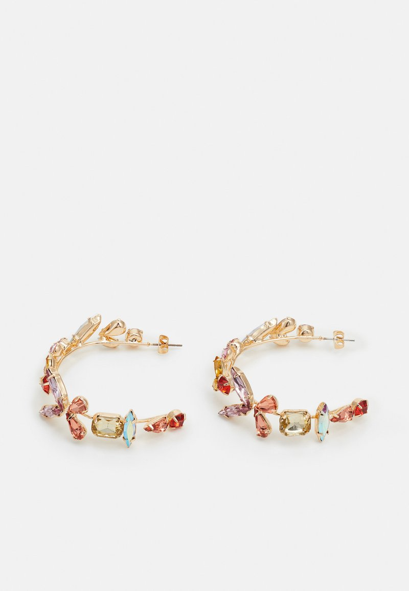 Pieces - PCMAGDI EARRINGS - Boucles d'oreilles - gold-coloured/multi colour