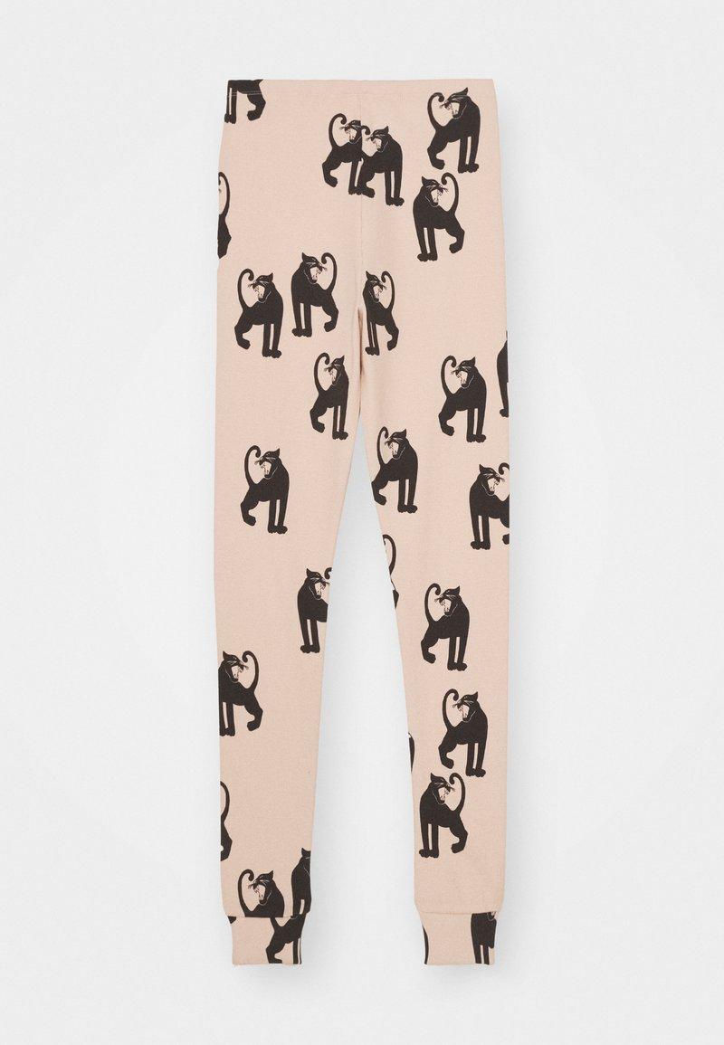 Mini Rodini - PANTHER - Leggings - Trousers - pink