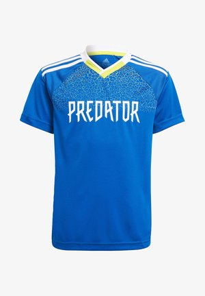 B A.R. PRED JSY - Print T-shirt - blue
