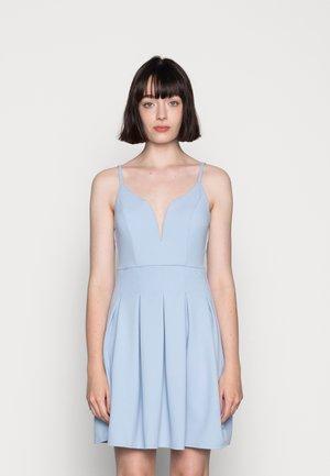 APRIL SKATER DRESS - Jersey dress - baby blue