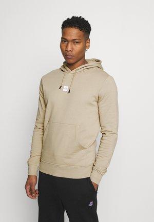 GRAPHIC HOOD - Hoodie - beige