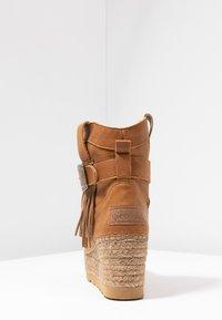 Vidorreta - DAKOTA - Wedge Ankle Boots - camel - 5