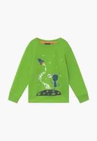 Blue Seven - KIDS GLOW IN THE DARK ALIEN  - Sweatshirt - apfel - 0