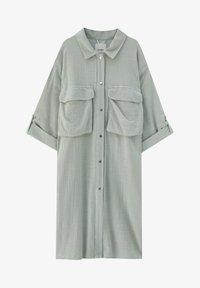 PULL&BEAR - Short coat - green - 4