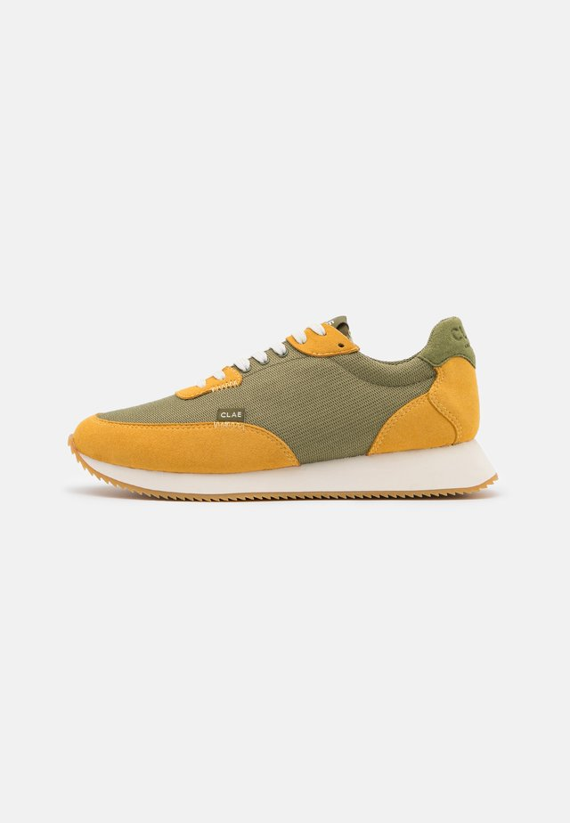 SIERRA - Trainers - golden glow/olive