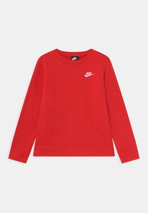 CREW CLUB - Sudadera - university red/white