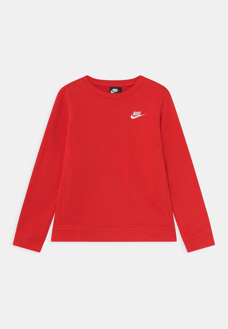 Nike Sportswear - CREW CLUB - Mikina - university red/white