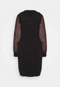 DKNY - Pouzdrové šaty - black/black/rudolph red/powder pink/multi - 7