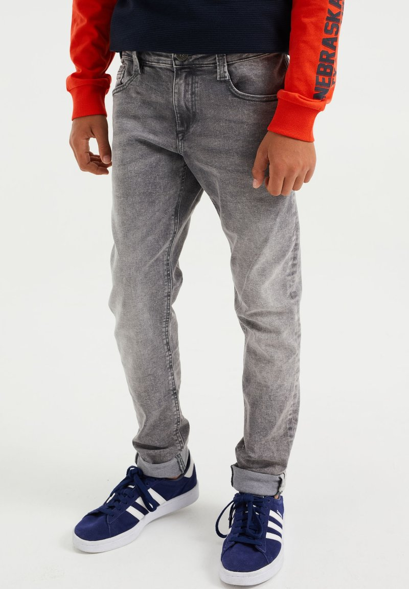 WE Fashion - Relaxed fit jeans - grey