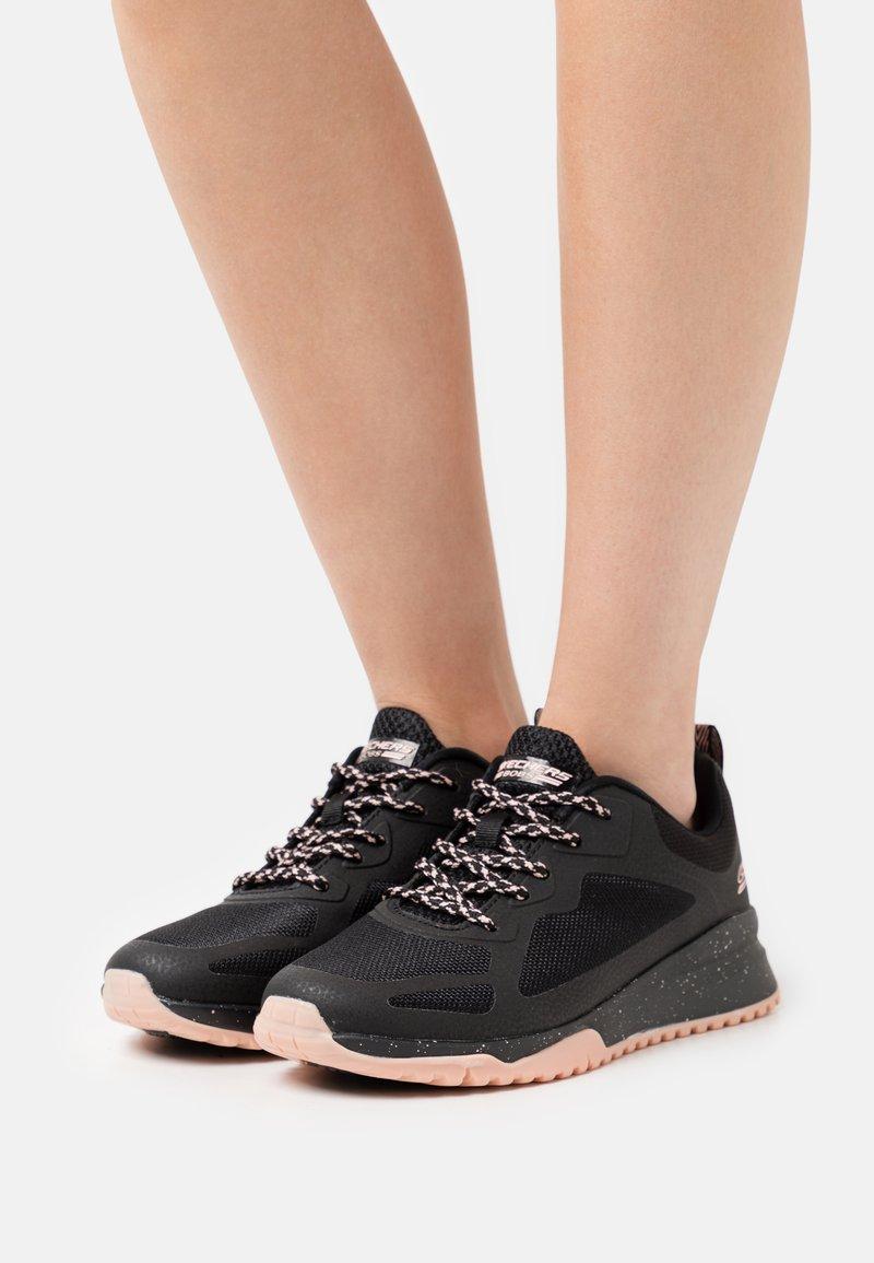 Skechers Sport - BOBS SQUAD  - Sneakers laag - black