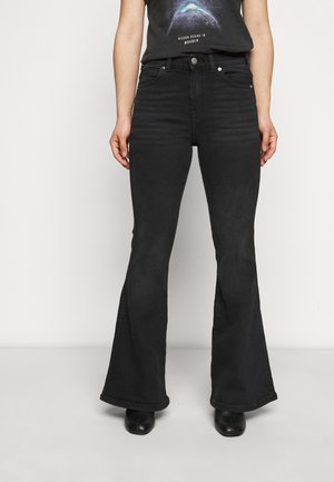 MACY - Flared Jeans - black mist