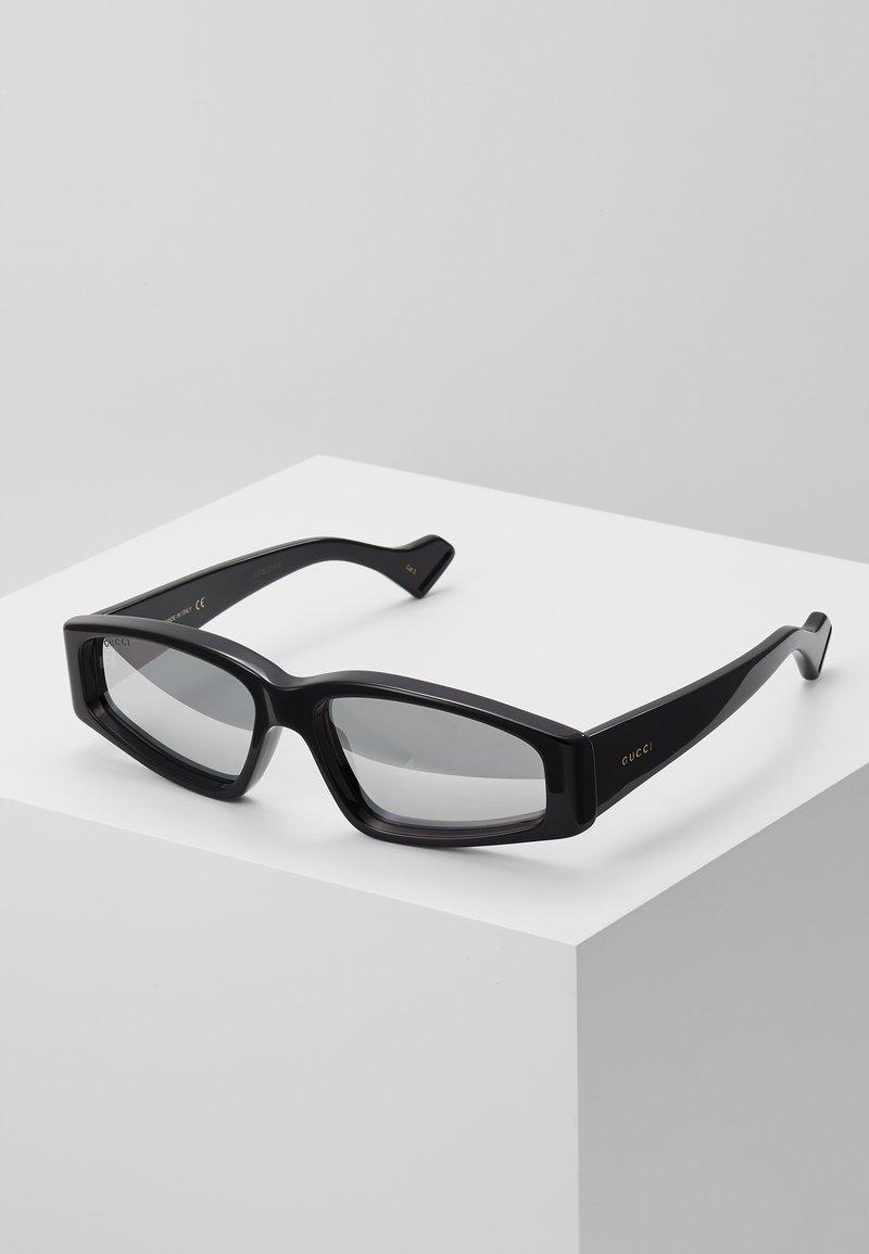 Gucci - Gafas de sol - black/silver