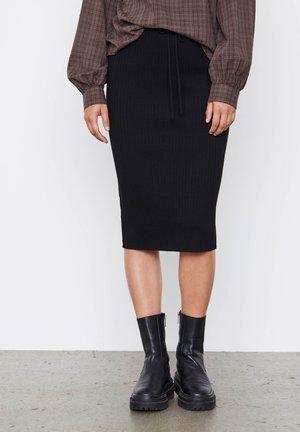 SRARON - Pencil skirt - black