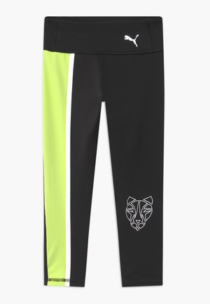 RUNTRAIN - Legging - black/sharp green