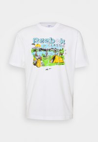Reebok Classic - TEE WEST - Print T-shirt - chalk - 0