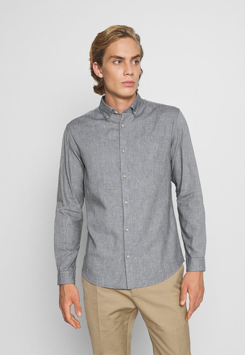 Jack & Jones PREMIUM - JPRBLALOGO AUTUMN - Shirt - grey melange