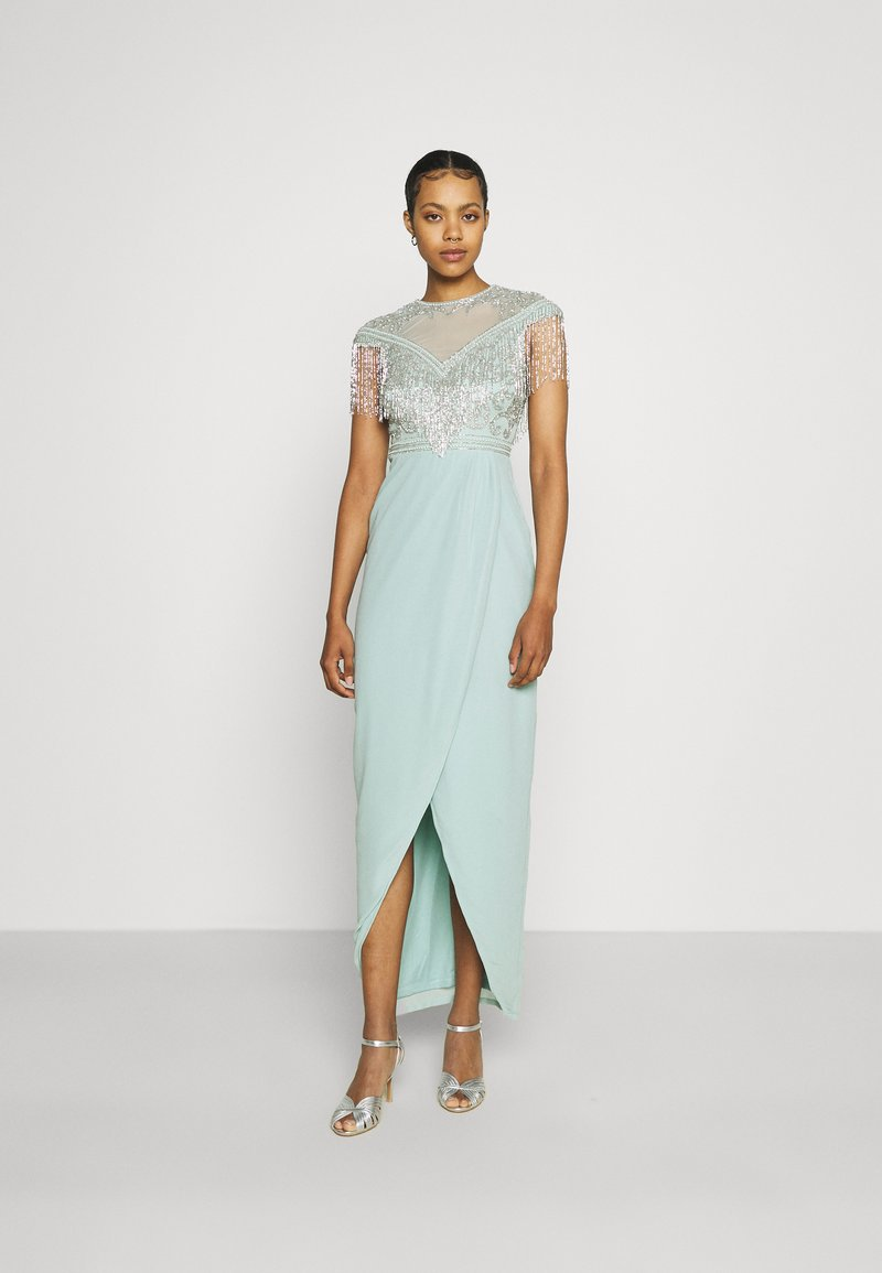 Lace & Beads - SAVANNAH - Occasion wear - teal