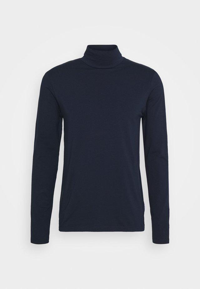 TURTLE NECK TEE - Long sleeved top - blue