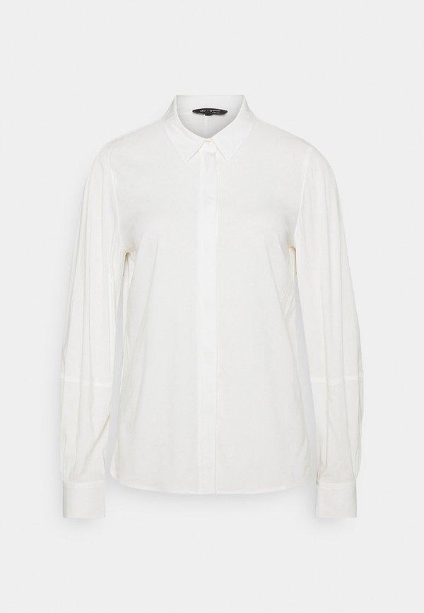 Marc O'Polo BLOUSE LONG SLEEVE - Bluzka - off white/mleczny LXQR