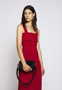 Proenza Schouler White Label - COMPACT TANK DRESS - Pouzdrové šaty - scarlet - 3