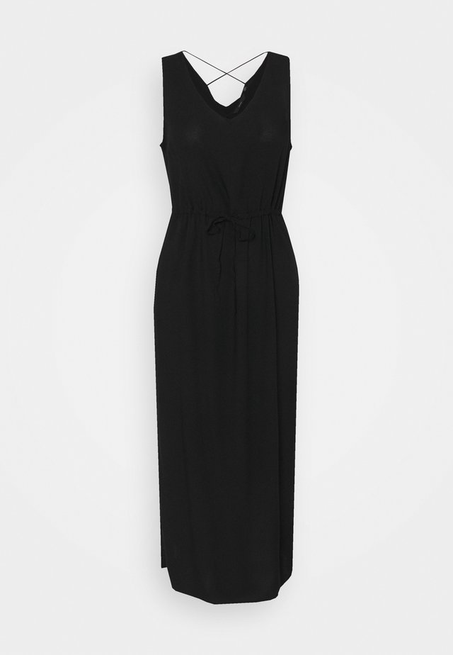 VMSIMPLY EASY TANK DRESS - Maxi-jurk - black