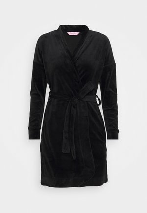 ROBE SHORT  - Dressing gown - black