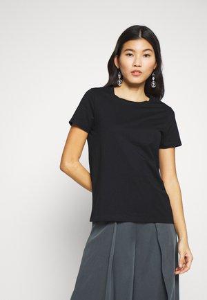 NEW SUPIMA CREW - Basic T-shirt - black