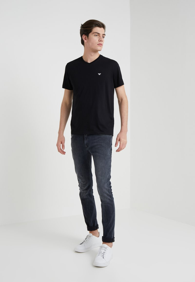 Emporio Armani - 2 PACK - Basic T-shirt - black