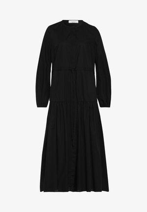 ORTENSIA - Vestido camisero - black