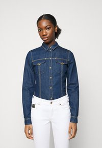 Versace Jeans Couture - LADY - Button-down blouse - indigo - 0