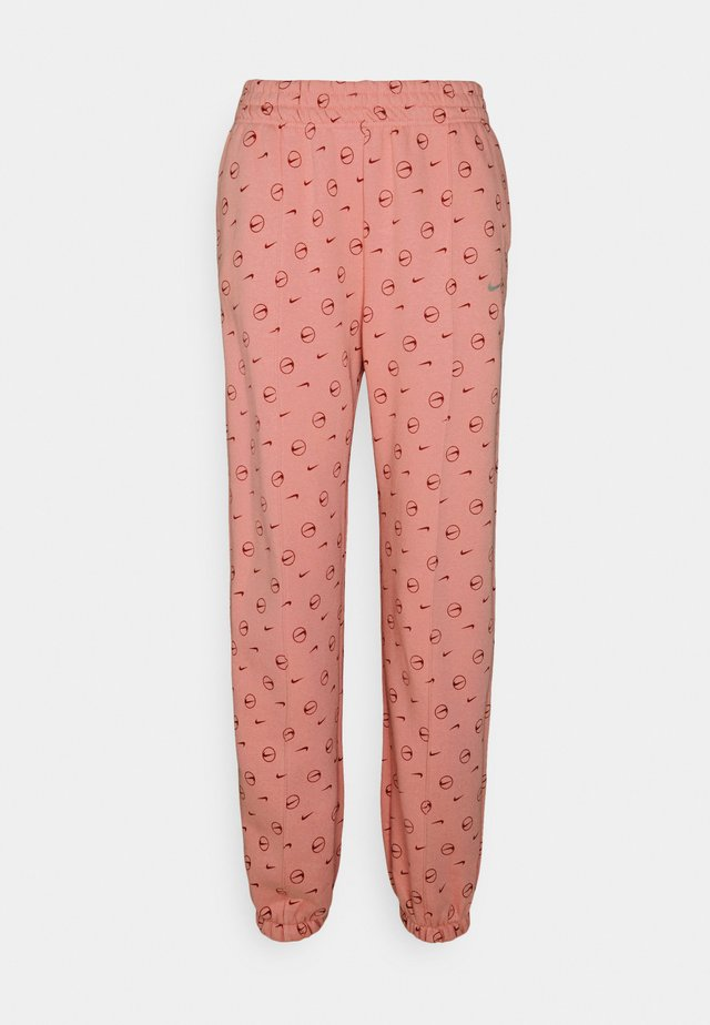 PANT - Tracksuit bottoms - rust pink/canyon rust