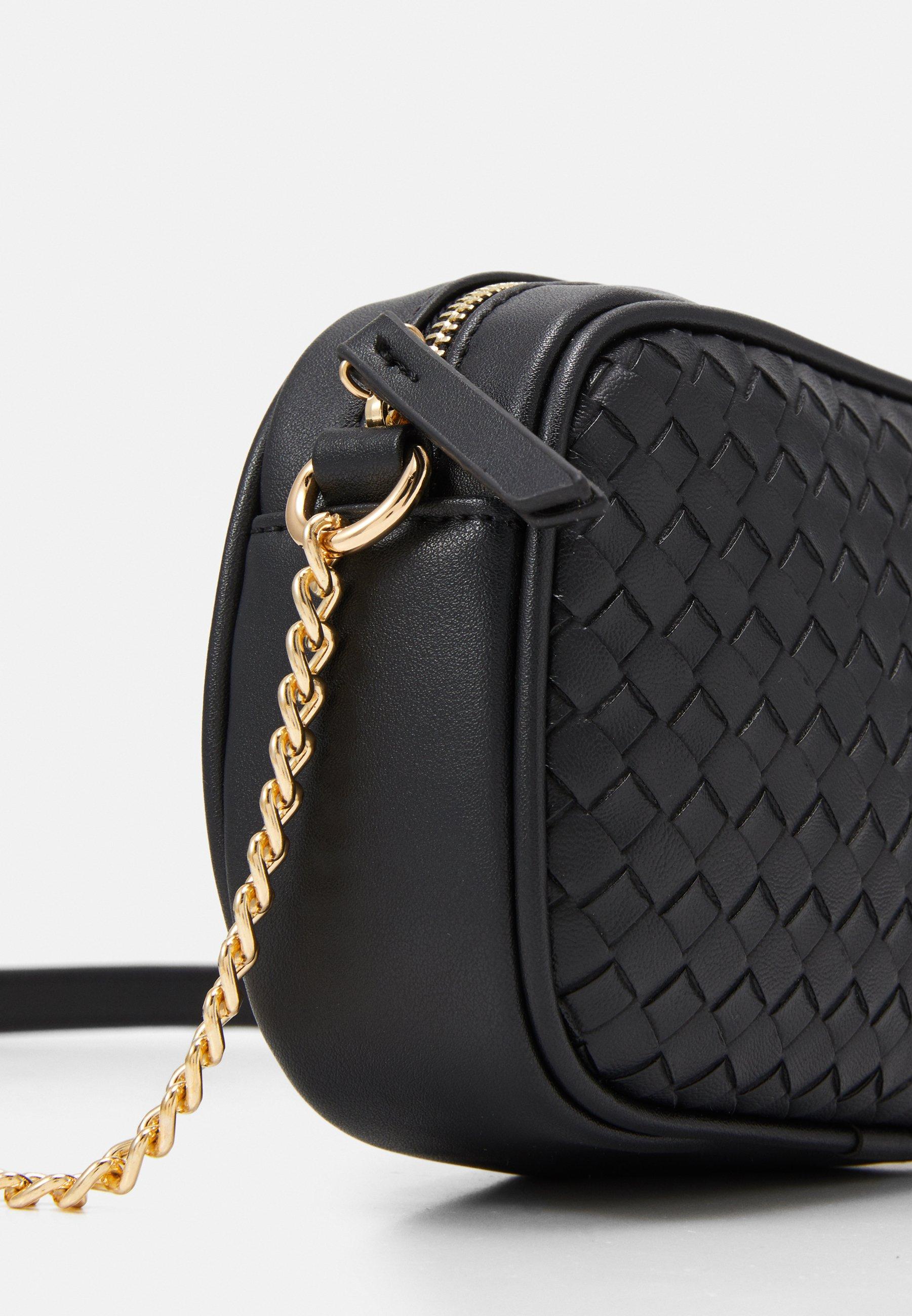 New Look BORA CAMERA BAG - Skulderveske - black/svart FRfy4bhzP9Rsgkq