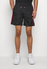 Glorious Gangsta - HARLAN SWIMSHORTS - Shorts - black - 0